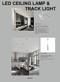 LED Ceiling Lamp & Track LIght catalogue/flipbook thumbnail