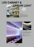 LED Cabinet & Linear Light catalogue/flipbook thumbnail